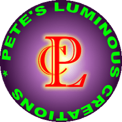 Pete's Luminous Creations | Glow and UV