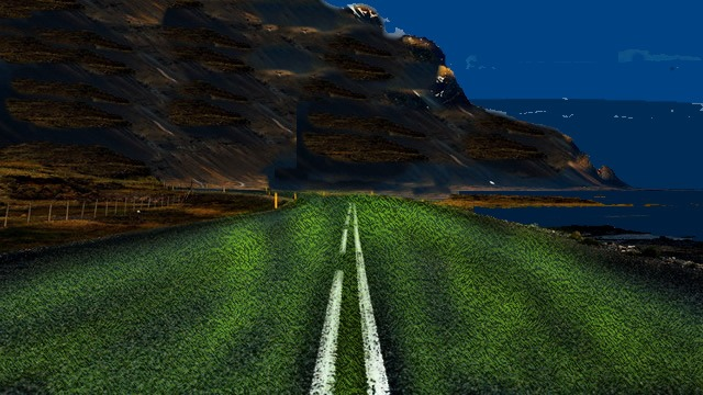 Glow in the Dark Roads and Highways