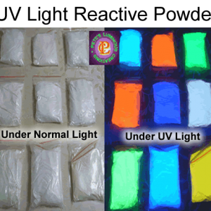 UV Light Reactive Powder