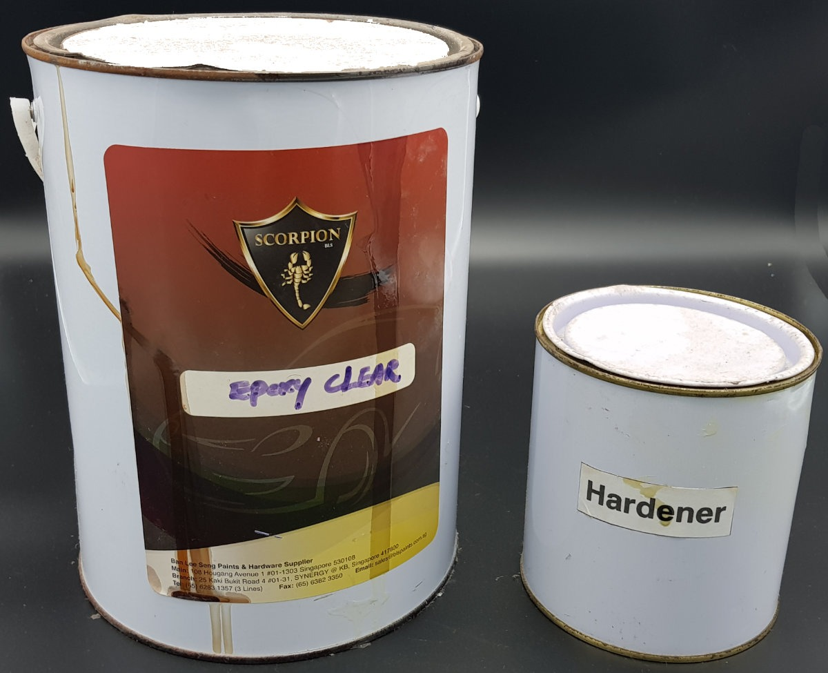 Gloss Epoxy and Hardener