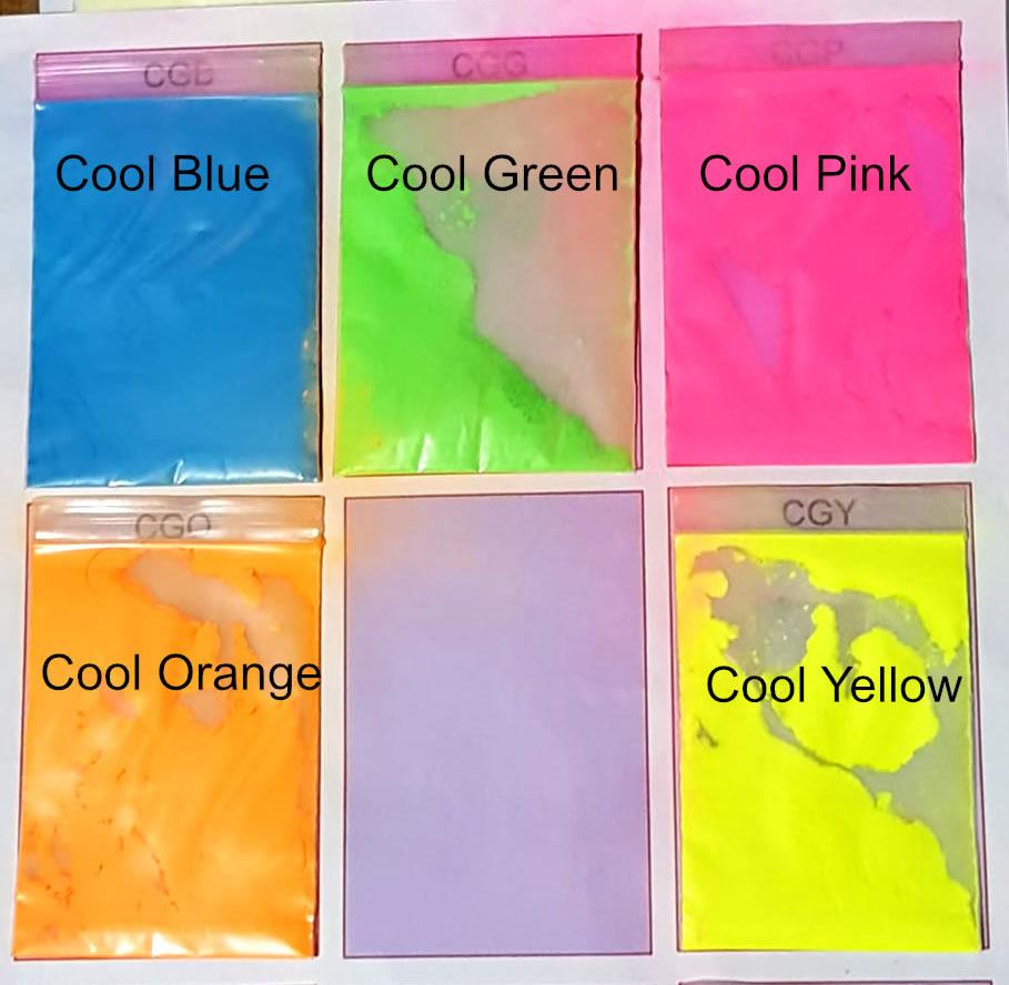 Glow Powder Colour Group