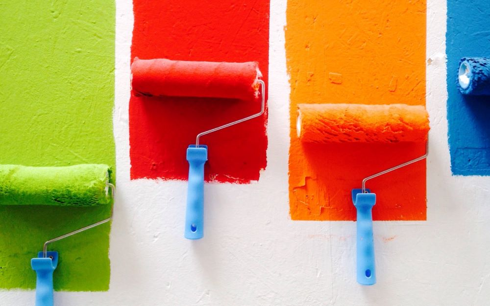 Glow paint on Concrete walls