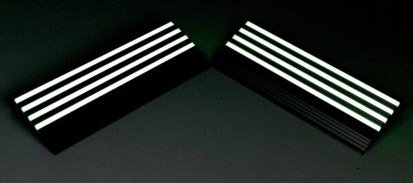 L-Shaped Staircase Nosing Glows